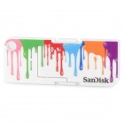SanDisk Cruzer Pop USB 2.0 Flash Drive - Multi-Color (4GB)
