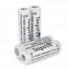 TangsFire 14500 1200mAh 3.7V Rechargeable Li-ion Battery - White 4 PCS)