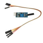 Vibration Switch Sensor Module w/ DuPont Cable for Intelligent Car - Blue