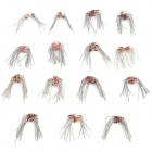 DIY 0.5W Voltage Regulator Tubes Zener Diodes - Silver + Red (140 PCS)