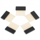 2.mm Pitch 8-Pin Male to Female Pin Headers for Arduino (5 PCS)