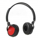 Rechargeable Bluetooth V2.1 MP3 Player Headset w / FM / TF / 3,5 mm Klinke - Red + Black
