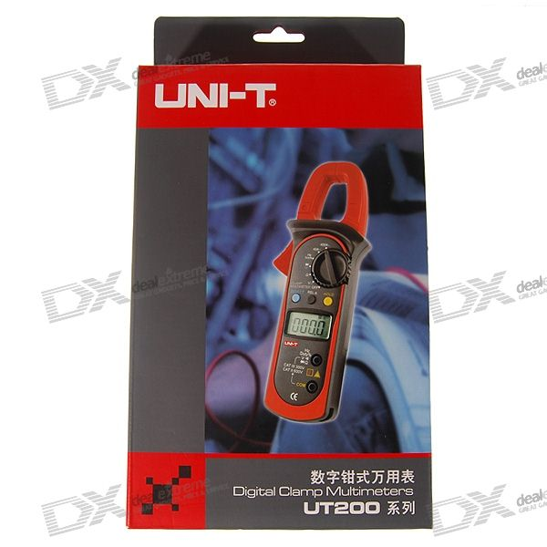 Uni-t UT203 Digital Clamp Multimeter (AC/DC 600V 400A Max)