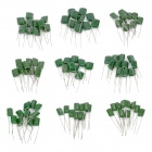 Low-Frequency Circuit Capacitors Set - Green (90 PCS)