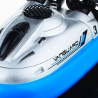 Mini Rechargeable 2-Channel Radio Control R/C Hovercraft Toy - Blue + Black