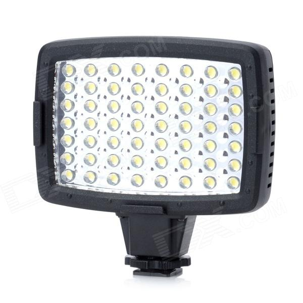 Universal CN-LUX560 3.4W 5400K 290Lux 56-LED Video Lamp - Black