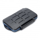 JJC MC Series Waterproof Digital Camera Memory Card Case - Black