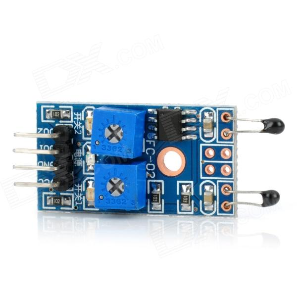 2 Channel Heat-Sensitive Temperature Switch Sensor Module for Arduino