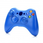 Replacement Wireless Controller Housing Case Set + Battery Back Case for XBOX 360 - Blue