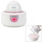 Home Ice Cream Maker Machine - White + Pink (220~240V)