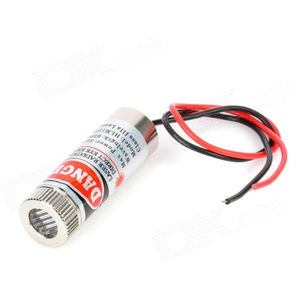 5mW Adjustable Focus Red Laser Line Module (4.5~5V) 10pcs 5mw laser diodes for arduino 5v 5mw 650nm diodo red dot laser diod circuit 5v 5mw 650nm module pointer sight copper head