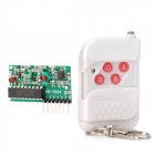 4-Key Wireless RF Module w/ Remote Controller