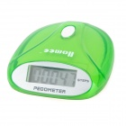 "Portable 0.9"" LCD Clip-on Pedometer - Light Green (1 x AG13)"