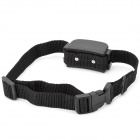Bark Pet Dog Training Collar de parada w / control remoto - Negro (2 x AAA)