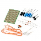 18-in-1 Resistor + Capacitor + Transistor Set for DIY Flashing LED Circuit