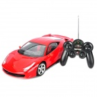 2048 Simulation 1.10 2-CH Car Model w / Remote Controller - Red