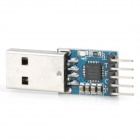 USB 2.0 to TTL Uart 5-Pin CP2102 Module Serial Converter - Blue
