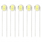 0.15W 25LM 6500K White 3-SMD 3014 LED Car Dashboard Light (5 PCS)
