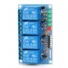 4 Channel 5V High Level Trigger Relay Module for Arduino (Works with Official Arduino Boards)
