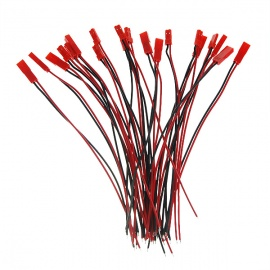 JST Cables - Red + Black (10PCS)