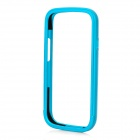 Protective Aluminum Alloy Bumper Frame Case for Samsung i9300 - Blue