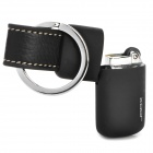 Stylish Butane Gas Lighter Keychain - Black