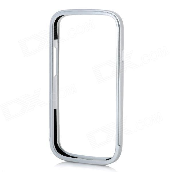 Protective Aluminum Alloy Bumper Frame Case for Samsung i9300 - Silver