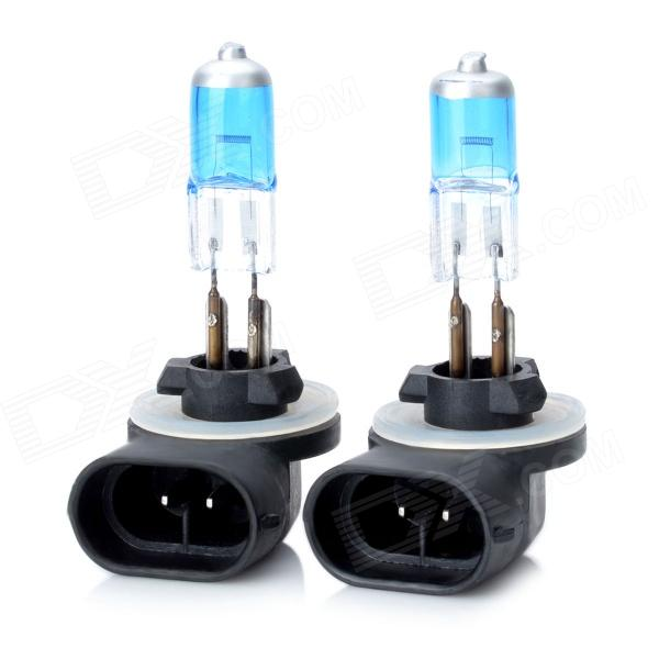 SENCART 881 27W 6000K 548lm White Light Halogen Car / Motorcycle Fog Lamps - (DC 12V / 2 PCS)