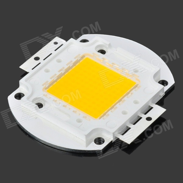 100W 9000LM 3200K Warm White Light 10*10 LED Plate Module (30~36V)