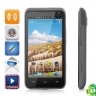 "V12 Android 4.0 WCDMA Cellphone w/ 4.3"" Capacitive Screen, Wi-Fi, GPS and Dual-SIM - Black"