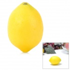 Artificial Lemon Simulation Fruit for Table Decoration - Yellow