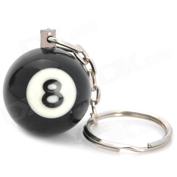 Terminator Snooker N0.8 Ball Keychain - Black кухонный комбайн bosch mum58243 mum58243