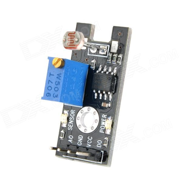 Light Sensor Photoresistor Module for Arduino (Works with Official Arduino Boards) xh m131 12v photoresistor module photoelectric sensor light sensor light control switch light detection