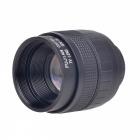 35mm F1.7 C Mount CCTV Lens w/ Macro Ring / C-M4/3 Mount Adapter - Black