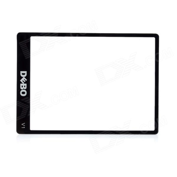 DEBO Optical Glass LCD Screen Protector for Nikon V1 - Black + Transparent