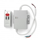 Wireless RF 6-Key RGB LED Dimmer Controller w/ Remote Control  Grey