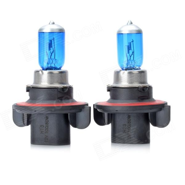 SENCART H13 100W 6000K 1955lm White Light Halogen Car / Motorcycle Fog Lights - (DC 12V / 2 pcs)