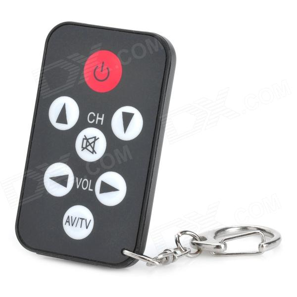 Universal Mini TV Television Remote Controller - Black (1 x CR2032)