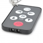 Universal Mini TV Television Remote Controller - Black (1 x CR2025)