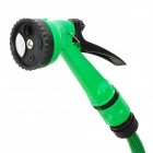 Car Wash Nozzle Spray Head Water Gun with Hose - Green (15m)