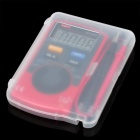 "Mini UNI-T UT120A LCD de 1.8 ""Note Book Style Multímetro digital - Negro Rojo + (1 x CR2032)"