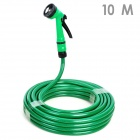 Car Wash Nozzle Spray Head Water Gun with Hose - Green (10m)