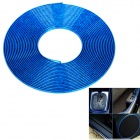 Glaring Car Chrome Effect Air Vent Decorative Strip - Blue (15m)