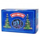 Decoration 200-LED Party Blue Net Light pour Noël - Transparent