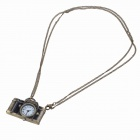 Retro Fashion Camera Style Pocket Quartz Watch with Necklace Chain (1 x LR626)
