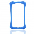 Protective Silicone Bumper Case Frame for Iphone 4 / 4S - Blue
