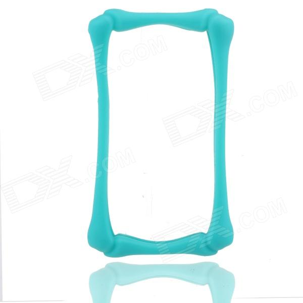 Protective Silicone Bumper Case Frame for Iphone 4 / 4S - Green
