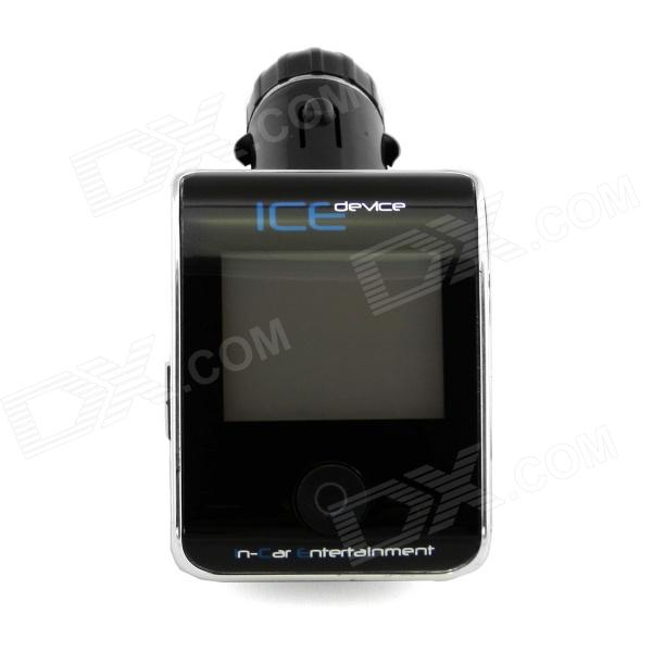 "Bluetooth Car Kit + FM Transmitter + 1.5"" LCD MP3 Player + Car Cigarette Lighter Charger w/ Remote"