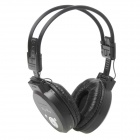 PS-399 Rechargeable Music Player Headset w/ FM / TF - Black (3.5mm Jack)