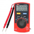 "UNI-T UT120C Portable 1.8"" LCD Digital Multimeter - Grey + Red (1 x CR2032)"